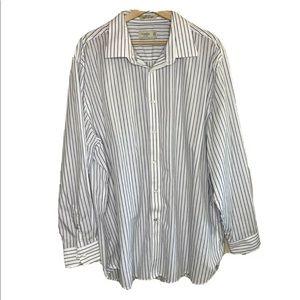 Haggar Regular Fit button up shirt striped